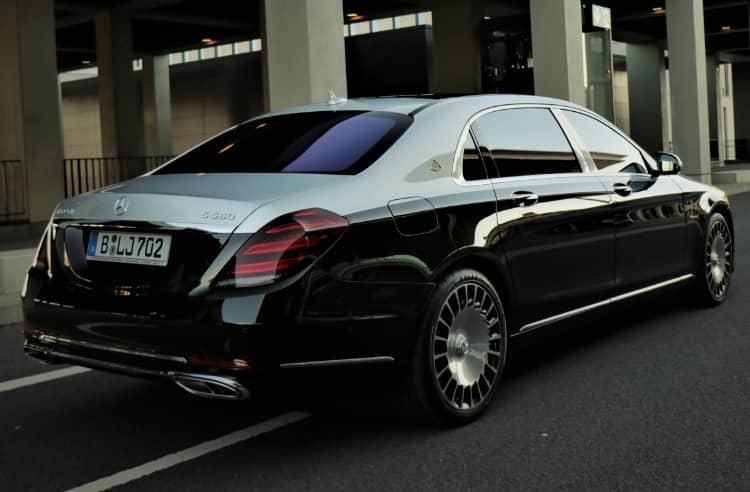 Mercedes Maybach Back View