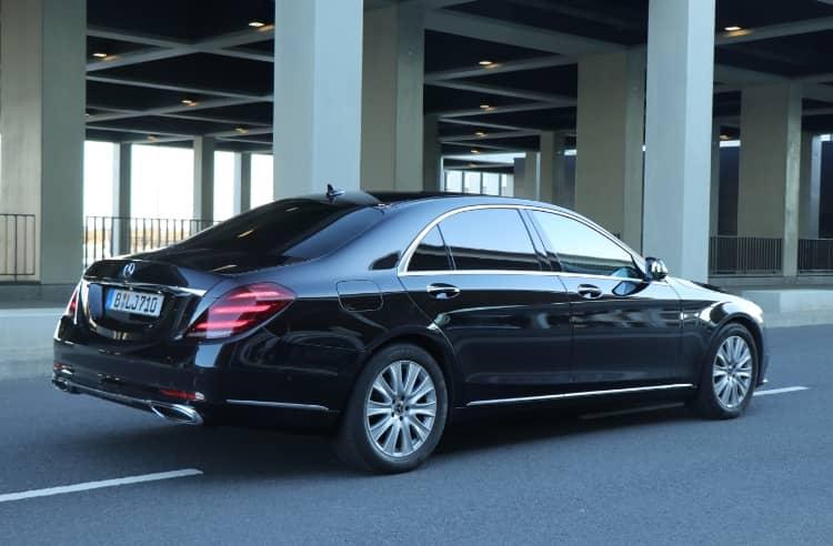 Mercedes S Klasse Hinteransicht