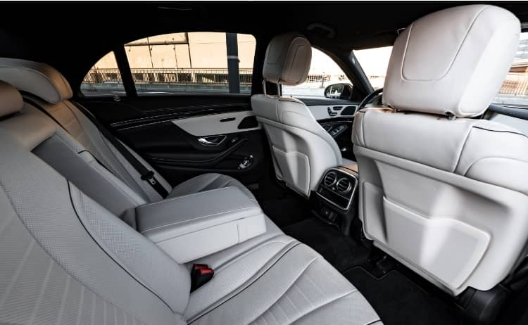Mercedes S Klasse Interior 1
