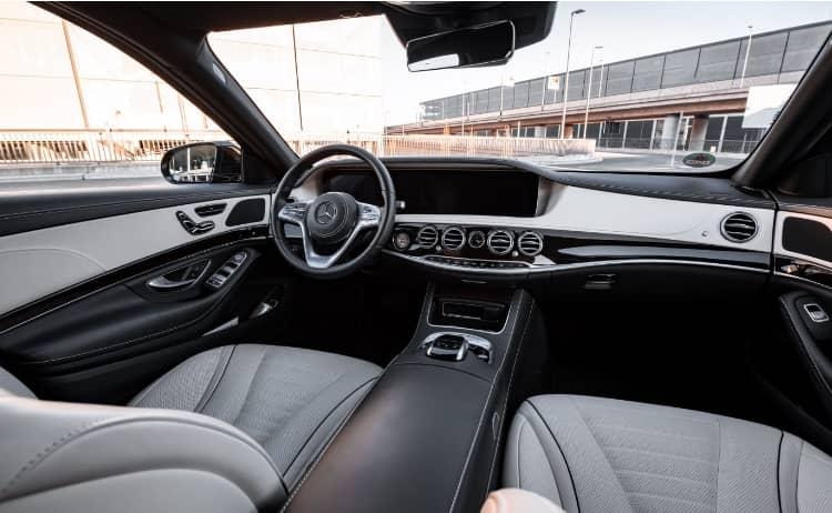 Mercedes S Klasse Interior 2