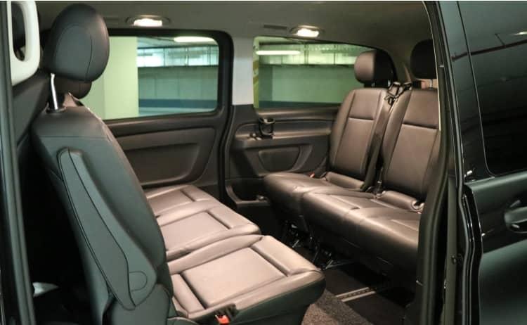 Mercedes V Klasse Interior Seitenansicht