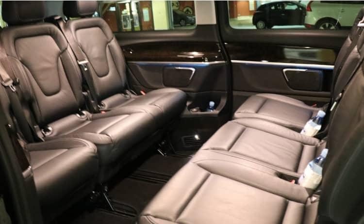 Mercedes V Klasse Interior